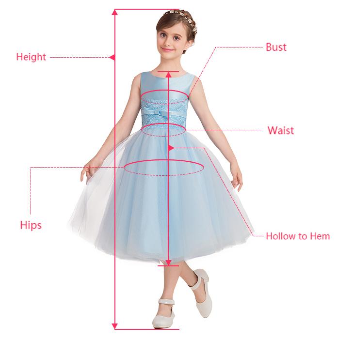 Exquisite Tulle Ball Gown Flower Girl Dresses | Scoop Juliet Flowers Girls Pageant Dresses | Babyonlinedress.com
